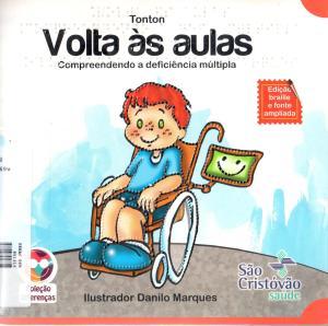 Livro sobre deficiência múltipla
