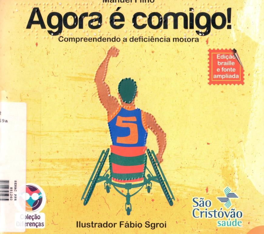 Livro sobre deficiência motora