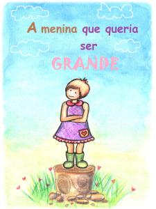 Capa do livro autoral Equoideias A menina que queria ser grande.