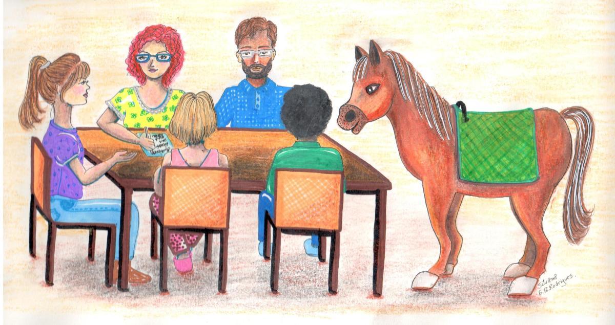 Como é o trabalho da equipe multidisciplinar na Equoterapia...dá certo?