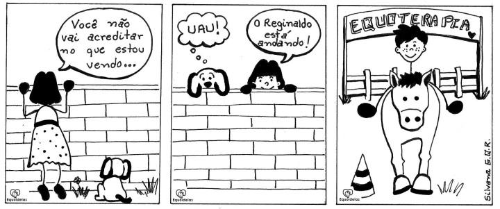 História em quadrinhos Equoideias