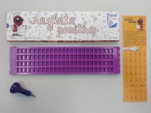 Régua para escrever em braille