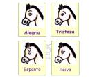 Expressões faciais do cavalo